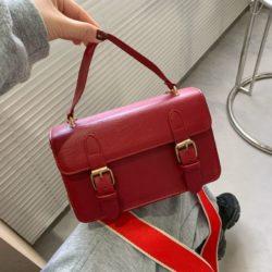JT513-red Tas Handbag Selempang Stylish Import Wanita Cantik