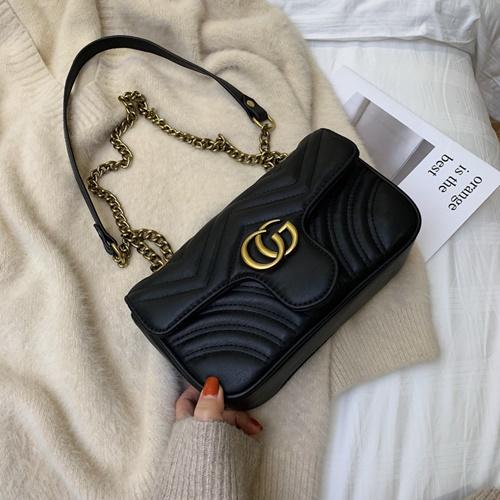 JT5223-black Tas Selempang Fashion Import Wanita Cantik