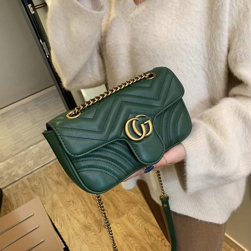 JT5223-green Tas Selempang Fashion Import Wanita Cantik