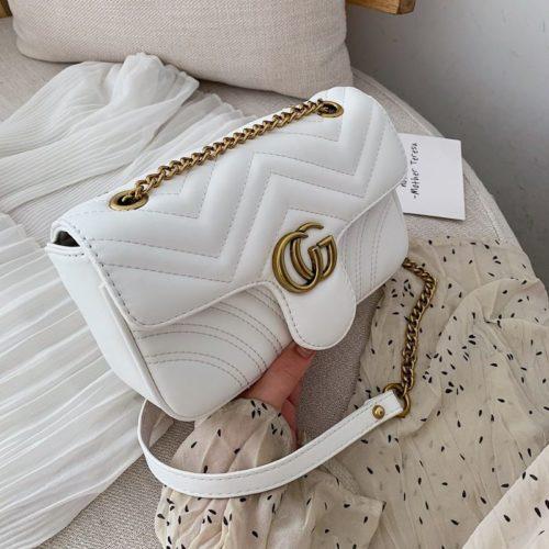 JT5223-white Slingbag Pesta Elegan Import