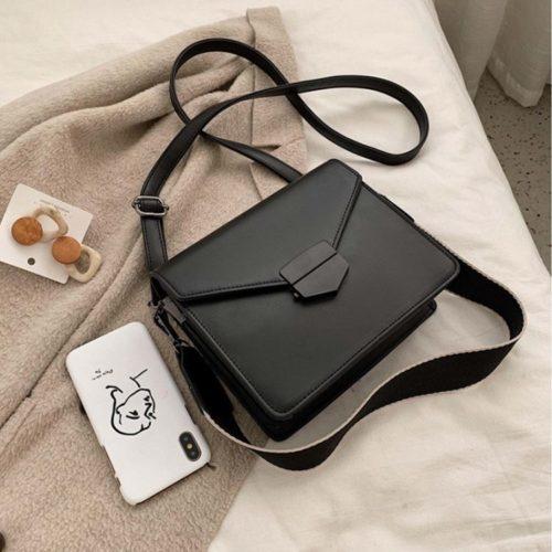 JT5249-black Tas Selempang Fashion Import Wanita Elegan