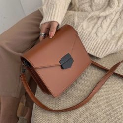 JT5249-brown Tas Selempang Fashion Import Wanita Elegan