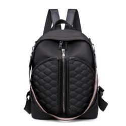 JT525-black Tas Ransel Fashion Stylish Wanita Terbaru