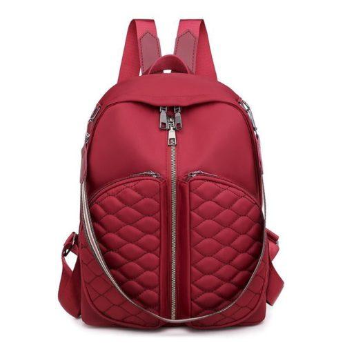 JT525-red Tas Ransel Fashion Stylish Wanita Terbaru
