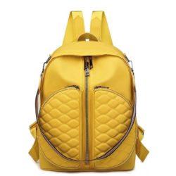 JT525-yellow Tas Ransel Fashion Stylish Wanita Terbaru