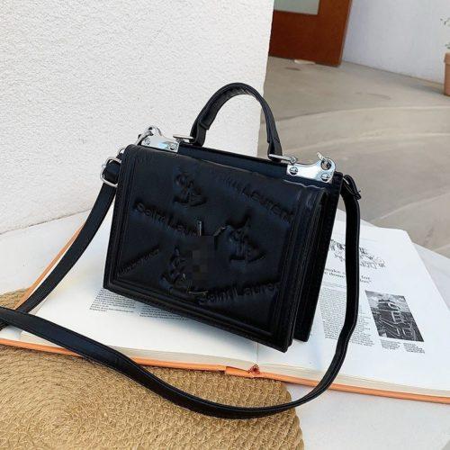 JT5452-black Tas Handbag Selempang Wanita Cantik Import