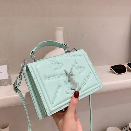 JT5452-green Tas Handbag Selempang Wanita Cantik Import
