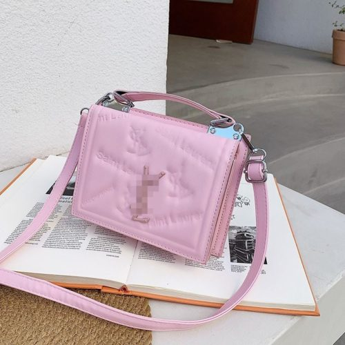 JT5452-pink Tas Handbag Selempang Wanita Cantik Import
