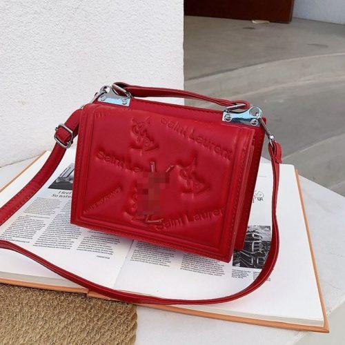 JT5452-red Tas Handbag Selempang Wanita Cantik Import