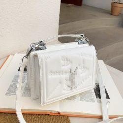 JT5452-white Tas Handbag Selempang Wanita Cantik Import