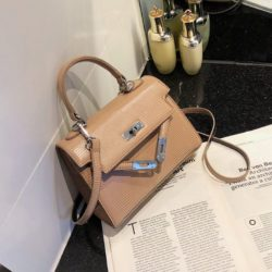 JT54820-khaki Tas Handbag Import Wanita Cantik Elegan