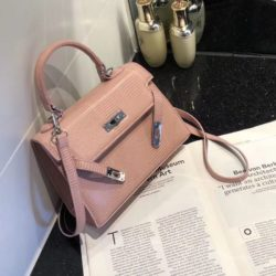 JT54820-pink Tas Handbag Import Wanita Cantik Elegan