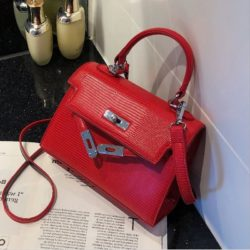 JT54820-red Tas Handbag Import Wanita Cantik Elegan