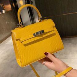JT54820-yellow Tas Handbag Import Wanita Cantik Elegan
