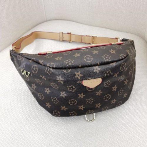 JT5837-coffee Tas Pinggang Waist Bag Wanita Cantik Import