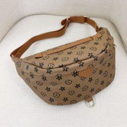 JT5837-khaki Tas Pinggang Waist Bag Wanita Cantik Import