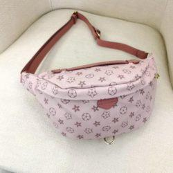 JT5837-pink Tas Pinggang Waist Bag Wanita Cantik Import