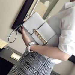 JT5870-gray Dompet Clutch Fashion Wanita Cantik Terbaru