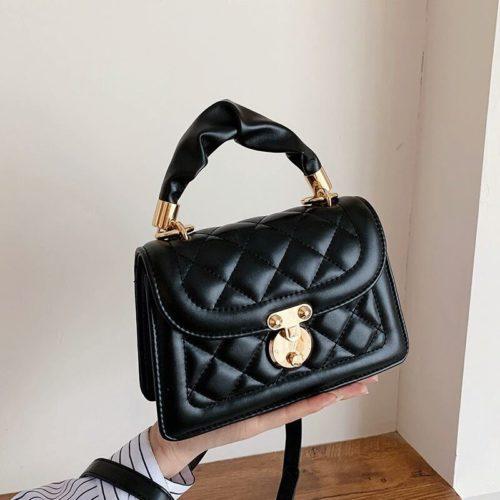 JT59435-black Tas Selempang Wanita Pesta Cantik Elegan