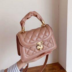 JT59435-pink Tas Selempang Wanita Pesta Cantik Elegan