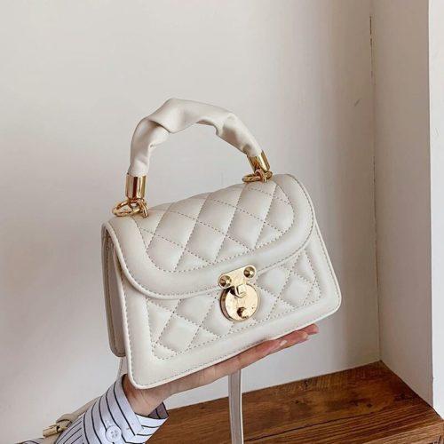 JT59435-white Tas Selempang Wanita Pesta Cantik Elegan