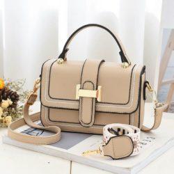 JT5955-khaki Tas Handbag Selempang Wanita Elegan 2 Talpan
