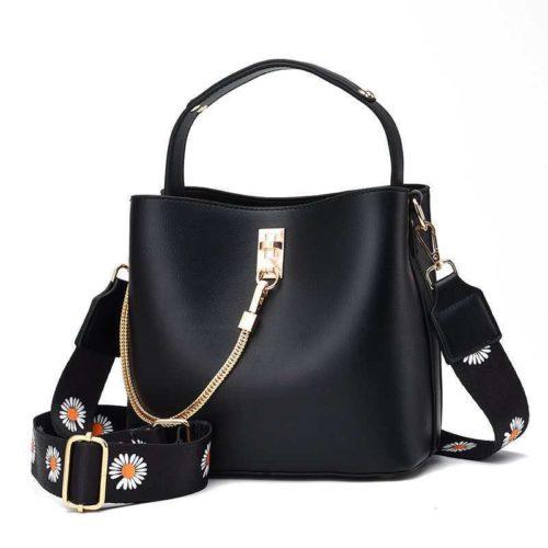JT6018-black Tas Selempang Import Wanita Cantik Terbaru