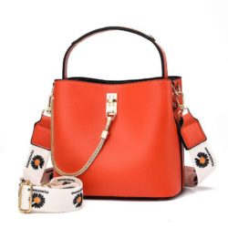 JT6018-orange Tas Selempang Import Wanita Cantik Terbaru