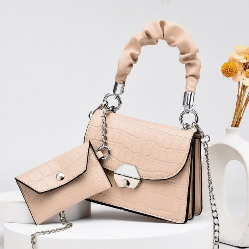 JT60201 (2IN1) IDR.170.000 MATERIAL PU SIZE L19XH14XW8CM, SMALL BAG 12X7CM WEIGHT 550GR COLOR KHAKI