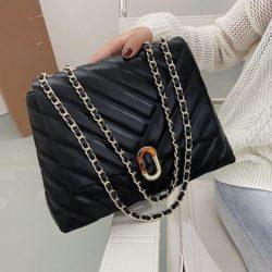 JT6024-black Tas Selempang Fashion Wanita Elegan Import