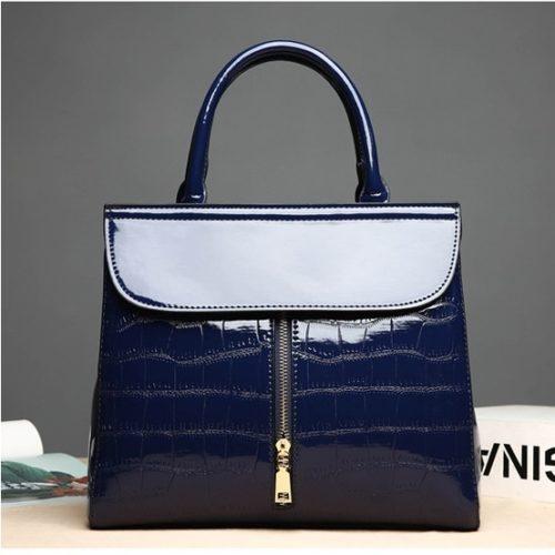 JT605-blue Tas Handbag Selempang Wanita Cantik