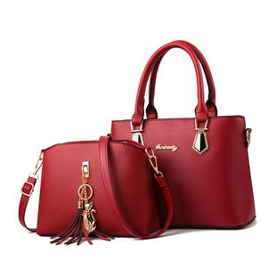 JT60751 (2IN1) IDR.172.000 MATERIAL PU SIZE L30.5XH21.5XW13CM WEIGHT 700GR COLOR RED