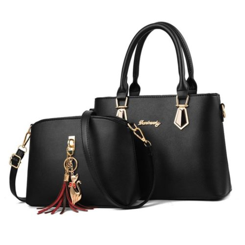 JT60751 (2IN1) IDR.175.000 MATERIAL PU SIZE L30.5XH21.5XW13CM WEIGHT 700GR COLOR BLACK