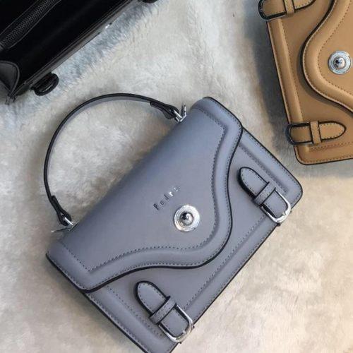 JT61205-lightblue Tas Handbag Wanita Elegan Import Tali Selempang