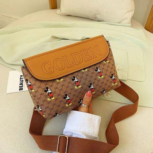 JT61356-brown Tas Selempang Modis Wanita Cantik Import