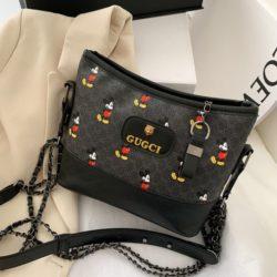 JT6137-black Tas Selempang Mickey Wanita Cantik Import
