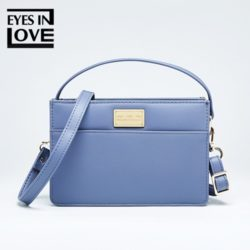 JT614-blue Tas Selempang Fashion Import Cantik