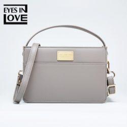 JT614-gray Tas Selempang Fashion Import Cantik