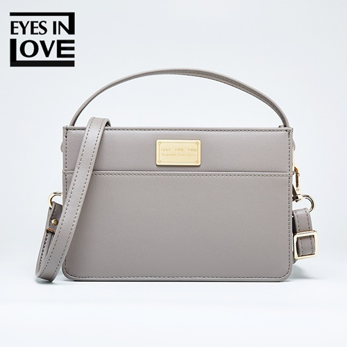 JT614 IDR.165.000 MATERIAL PU SIZE L17.5XH12XW6CM WEIGHT 350GR COLOR GRAY