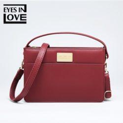 JT614-red Tas Selempang Fashion Import Cantik