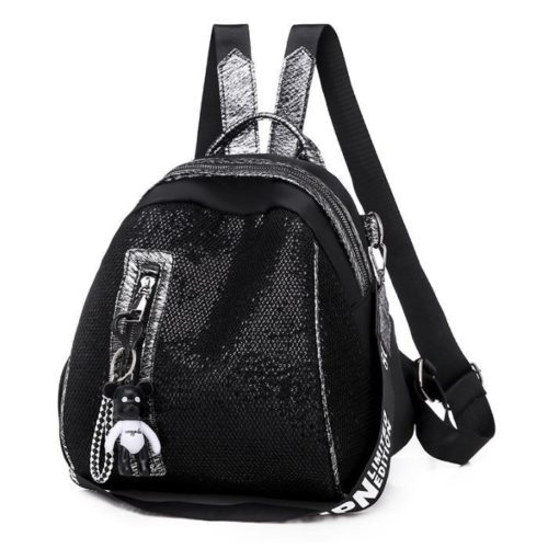JT6144 IDR.142.000 MATERIAL SEQUIN SIZE L26XH26XW19CM WEIGHT 500GR COLOR BLACK