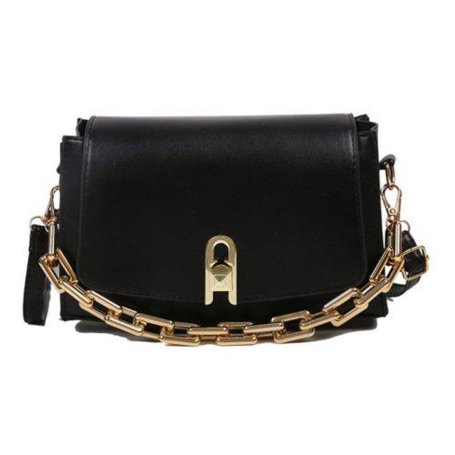 JT6150-black Tas Selempang Model Chain Wanita Cantik Import