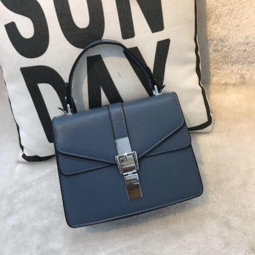 JT62034-blue Tas Handbag Selempang Import Wanita Cantik