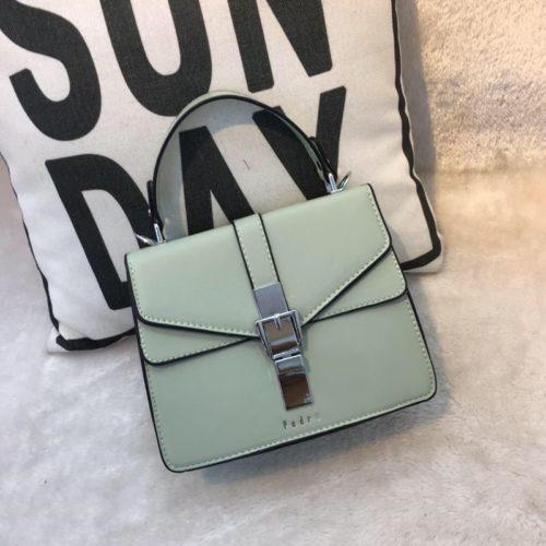 JT62034-green Tas Handbag Selempang Import Wanita Cantik