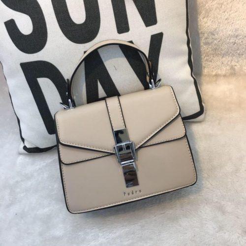 JT62034-khaki Tas Handbag Selempang Import Wanita Cantik