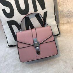JT62034-pink Tas Handbag Selempang Import Wanita Cantik