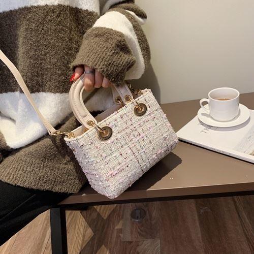 JT6231-white Tas Handbag Wanita Modis Import Terbaru
