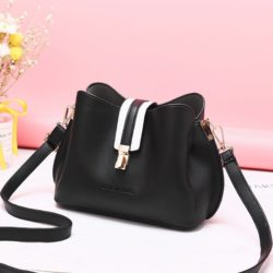 JT62346-black Tas Selempang Wanita Modis Import Terbaru