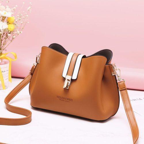JT62346-brown Tas Selempang Wanita Modis Import Terbaru