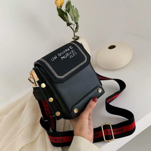 JT6243-black Tas Selempang Stylish Wanita Cantik Terbaru